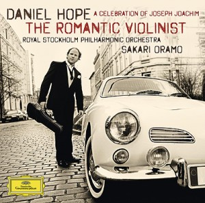 Daniel Hope, The Romantic Violinist. CD-Cover