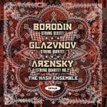 Nash-Ensemble, Borodin-Glasunov-Arensky CD-Cover