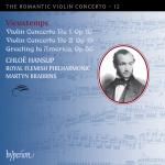 Vieuxtemps-CD von Chloe Hanslip - Cover