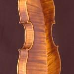 Violine von Jean Severin, Weimar, Rückseite