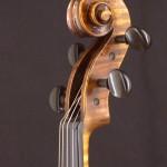 Schnecke einer Geige von Jean Severin, Weimar