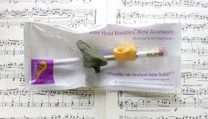Bow Hold Buddys - Griffhilfen für den Geigenbogen