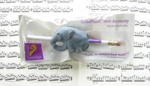 Cellophant - Griffhilfe für den Cellobogen