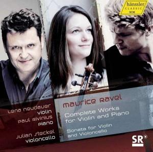 Lena Neudauer - Ravel, CD-Cover