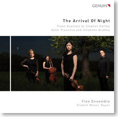 Flex Ensemble Arrival of Night CD-Cover