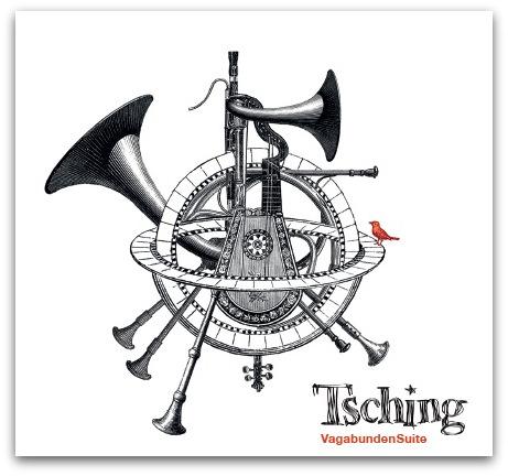 Cover der CD Vagabundensuite von Tsching