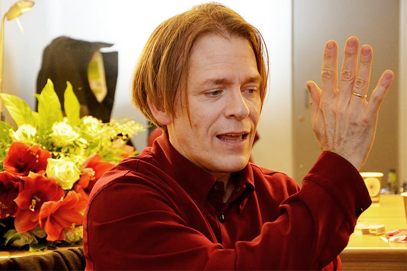 Alban Gerhardt - Porträt von Nils-Christian Engel