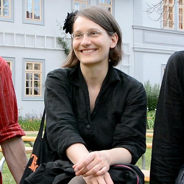 Franziska Kraft von Tsching, 2014 in Rudolstadt